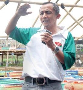 Yudi Supriyono, direktur produksi dan kemitraan Parung Farm