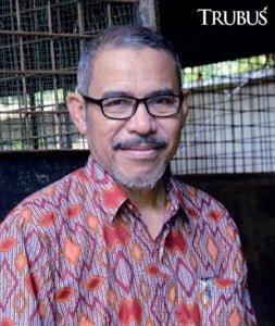Dr Ir Burhanuddin Masy'ud MSi ahli ekologi trenggiling dari Fakultas Kehutanan Institut Pertanian Bogor.