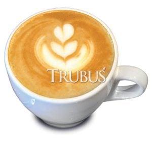 Kombinasi dengan susu membuat latte robusta yang gurih.