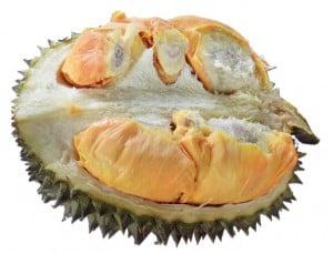 Juara ke-1 durian eksotis milik Bismo. Daging buah tebal dengan tekstur lembut