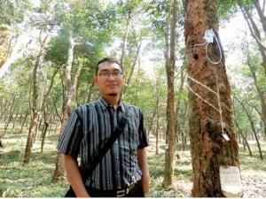 Akhmad Rouf SP MP, peneliti RIGG-9 dari Balit Getas