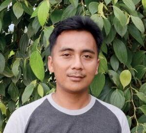 """Ketua Asosiasi Pekebun Lada Purbalingga, Yogi Dwi Sungkowo, """"Peluang bertanam lada tetap bagus,"""""""