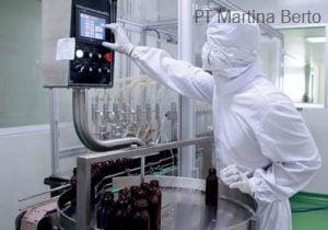 Walaupun memproduksi obat tradisional proses pembuatan berlangsung secara modern.