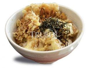 Jamur maitake yang diolah menjadi tempura.